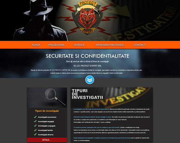 web design site lecprotect.ro